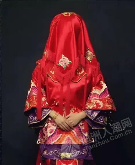 橙光手绘古代女子嫁衣