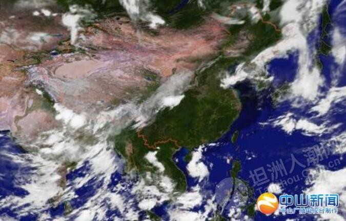 注意级 中山气象局发布台风白色预警信号