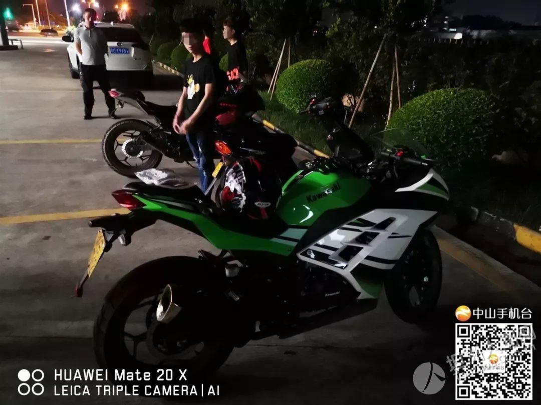 """横栏:近30辆摩托车深夜沙古公路飙车?交警""""铁骑队""""出动,与他们来了个PK!"""