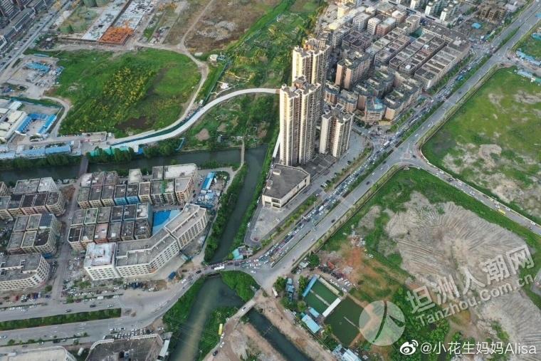 终于有新消息!中山市坦洲镇环洲东路东灌渠桥工程新进展!