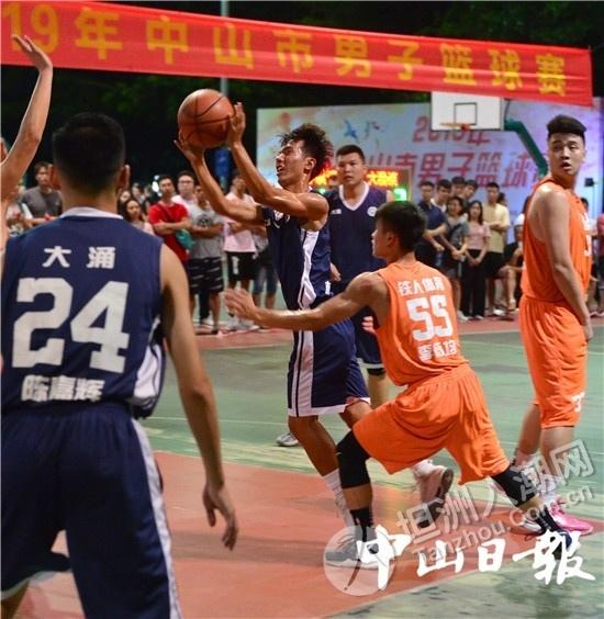 中山最高水平!2019年中山市男子篮球联赛开赛啦!坦洲代表加油