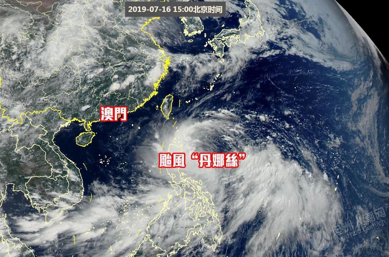 """台风""""丹娜丝""""生成,坦洲人现在可以实时关注台风动向!"""