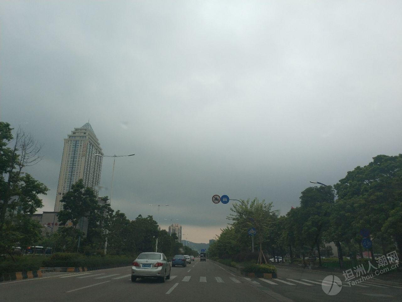 坦洲天气:高温+下雨