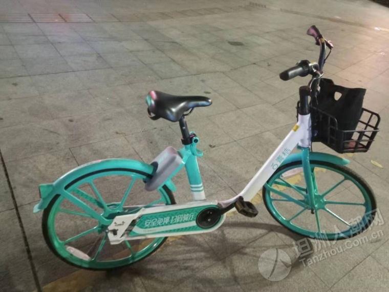 坦洲新型共享单车!劲好踩!