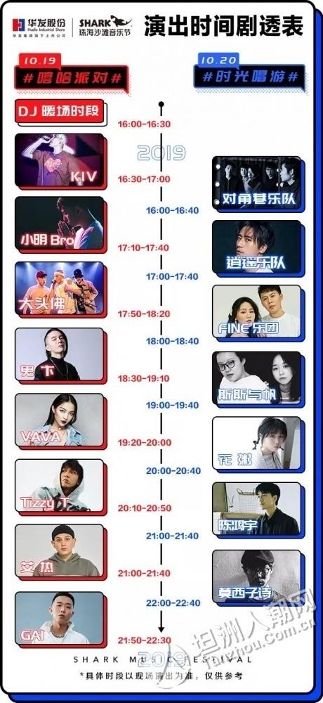 【预告】今明两天!2019珠海沙滩音乐节(2019.10.19-2019.10.20)