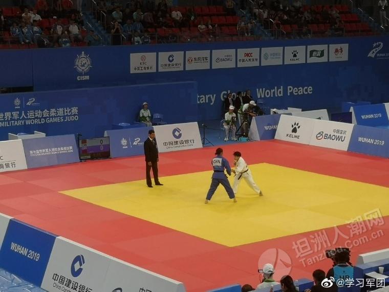 祝贺坦洲镇现役军人黄丽茹荣获第七届军人运动会柔道项目金牌!