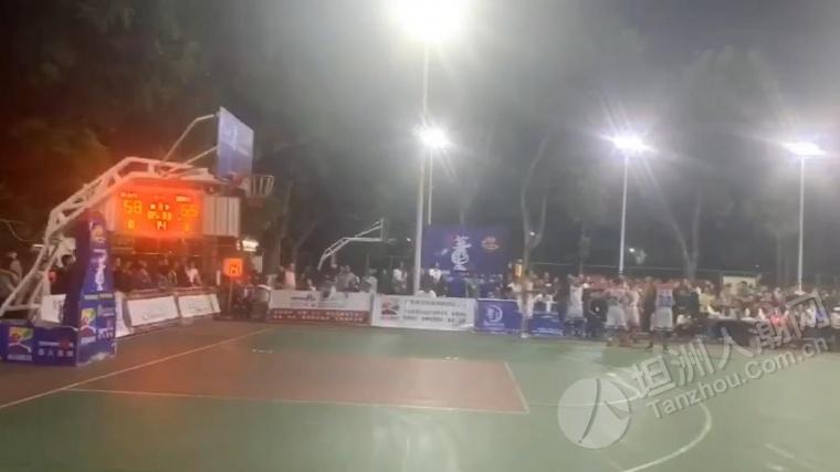 坦洲村居球赛引众多球迷观看