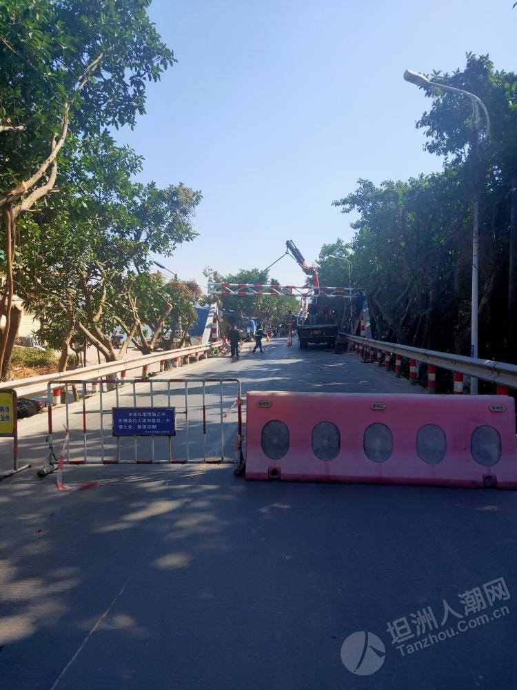 孖洲桥限高短暂修复