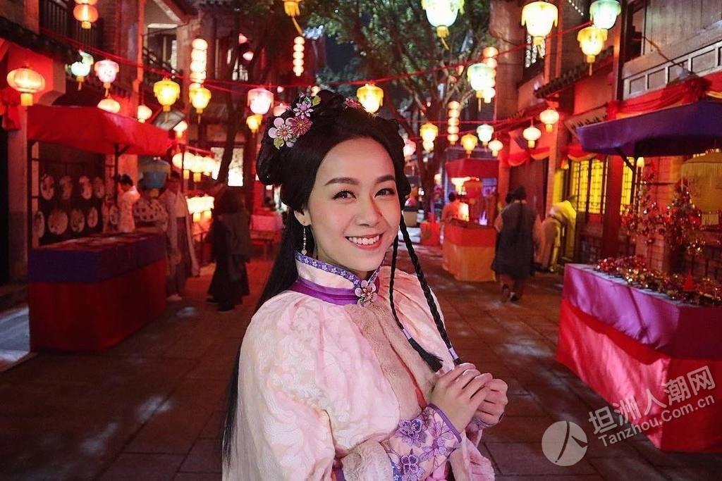 黄心颖新剧解禁片段曝光,cosplay女僕扮网红赚钱!