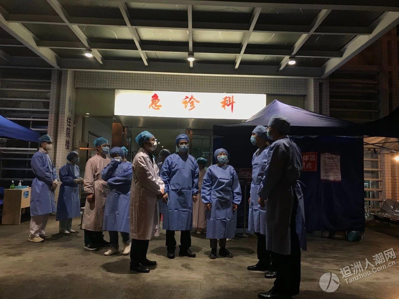 市领导唐颖到坦洲镇调研督导疫情防控和复工复产工作