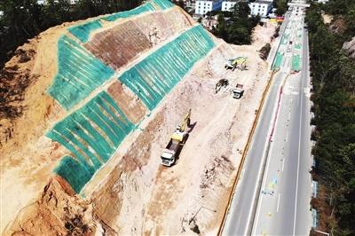 坦洲快线3处施工点复工 力争明年春节前主线通车