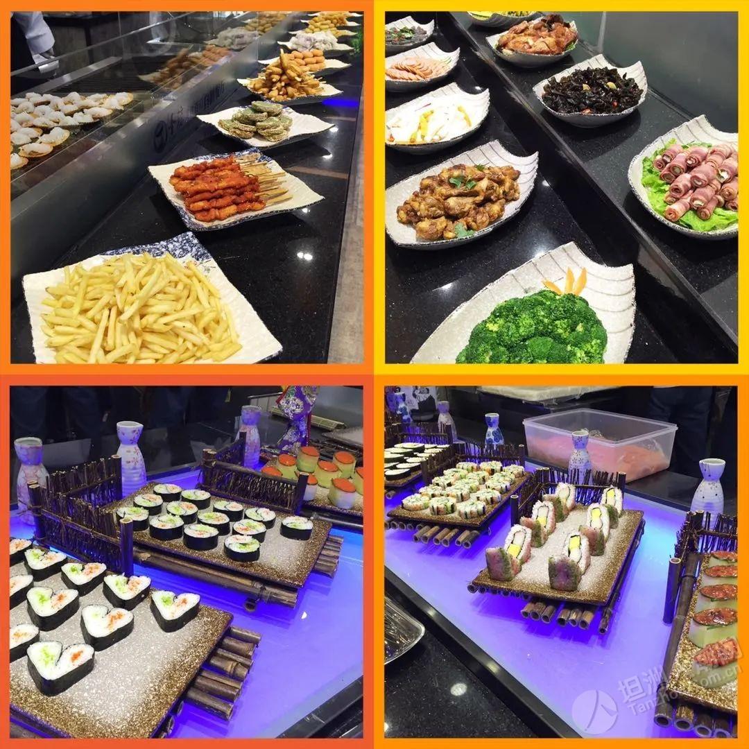 """坦洲人请放开""""胃""""吃!仅需53元!海鲜+寿司+火锅+饮料无限量畅吃!"""