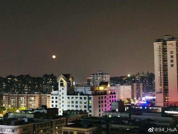 坦洲昨晚的月亮,你抬头看了吗?