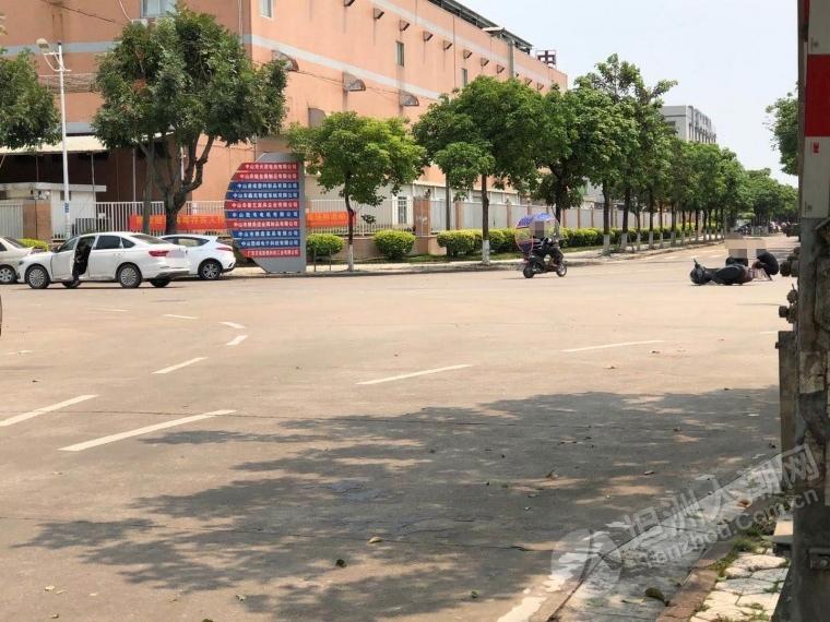 经过路口一定要小心!坦洲第三工业区又电动车被撞了