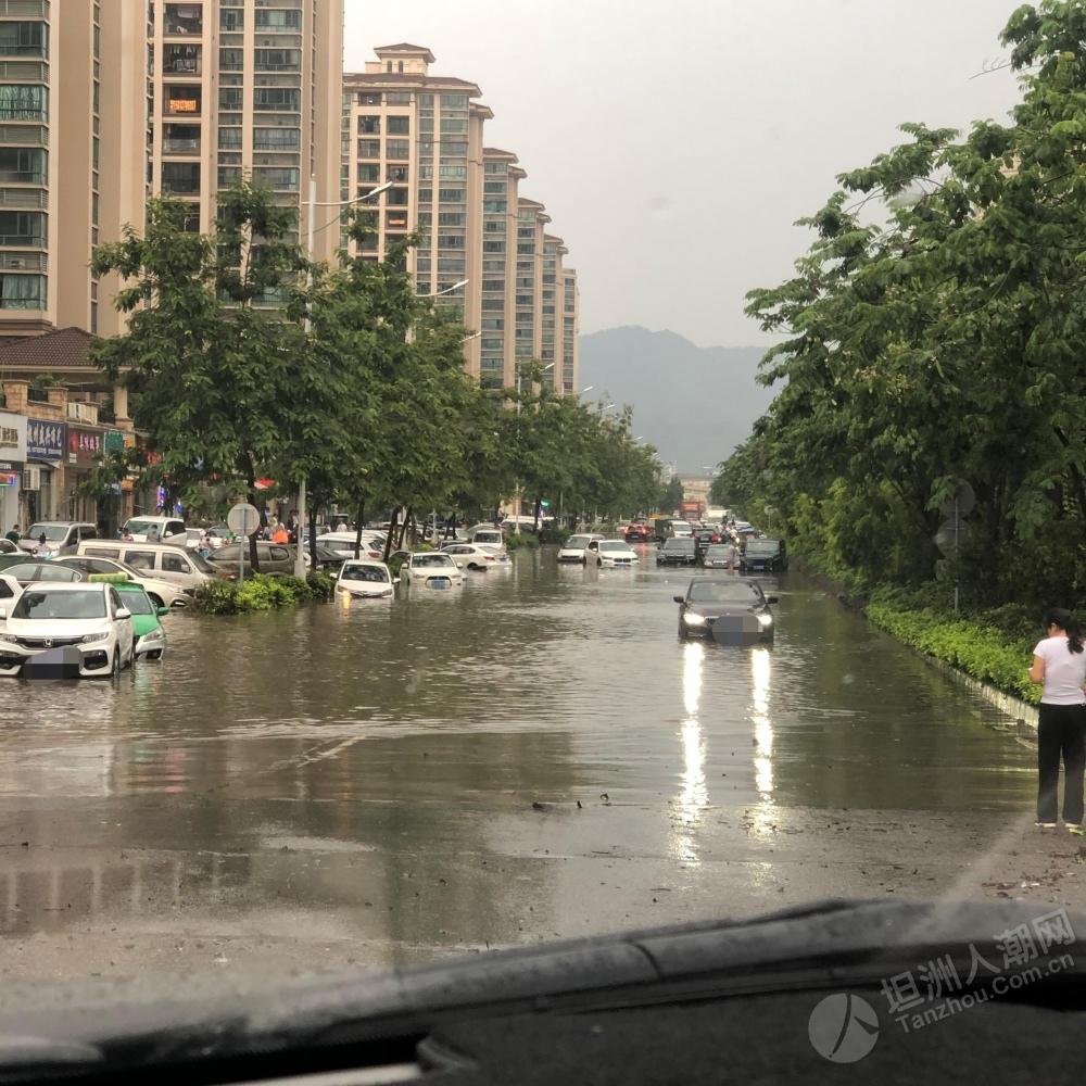【汇总】2020.5.26坦洲突降大雨各处情况,部分地方出现水浸(更新中)