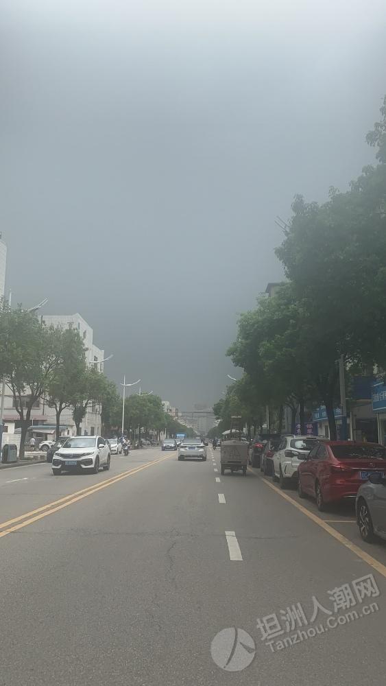 坦洲黑晒天,估计又有一场雨