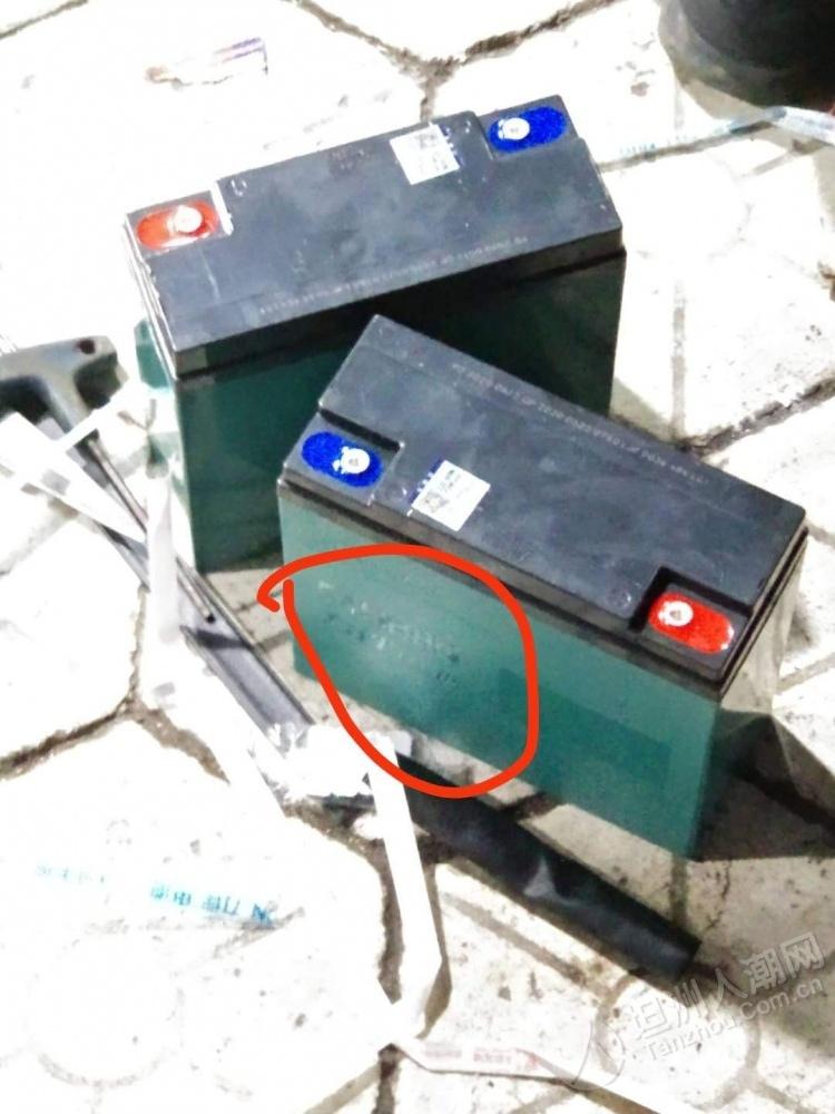 """买电动车还有这样的猫腻?坦洲街坊新车电池疑似被人""""偷龙转凤""""!"""