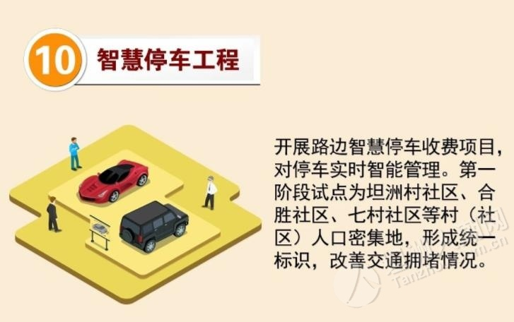 坦洲这6个区域路边停车位拟实施收费?