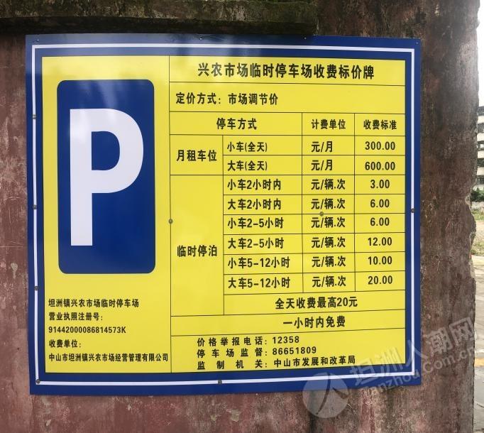 好消息!好消息!兴农市场临时停车场已经对外开放了!停车场位置在...