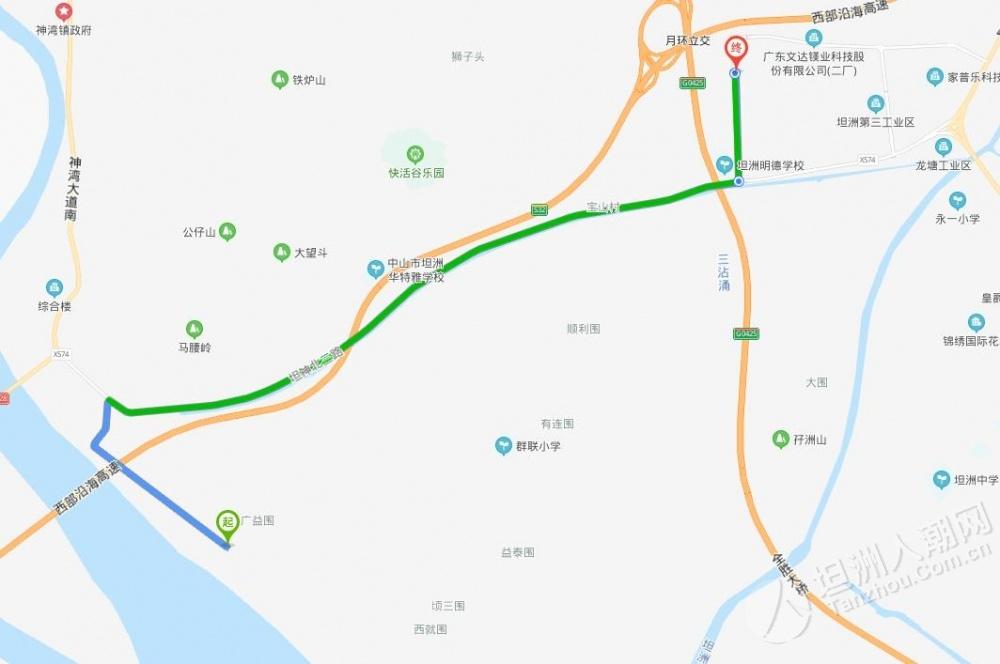 好激动!坦洲网友尝鲜:开小车过联石湾水闸,正式通车时间等官方公布