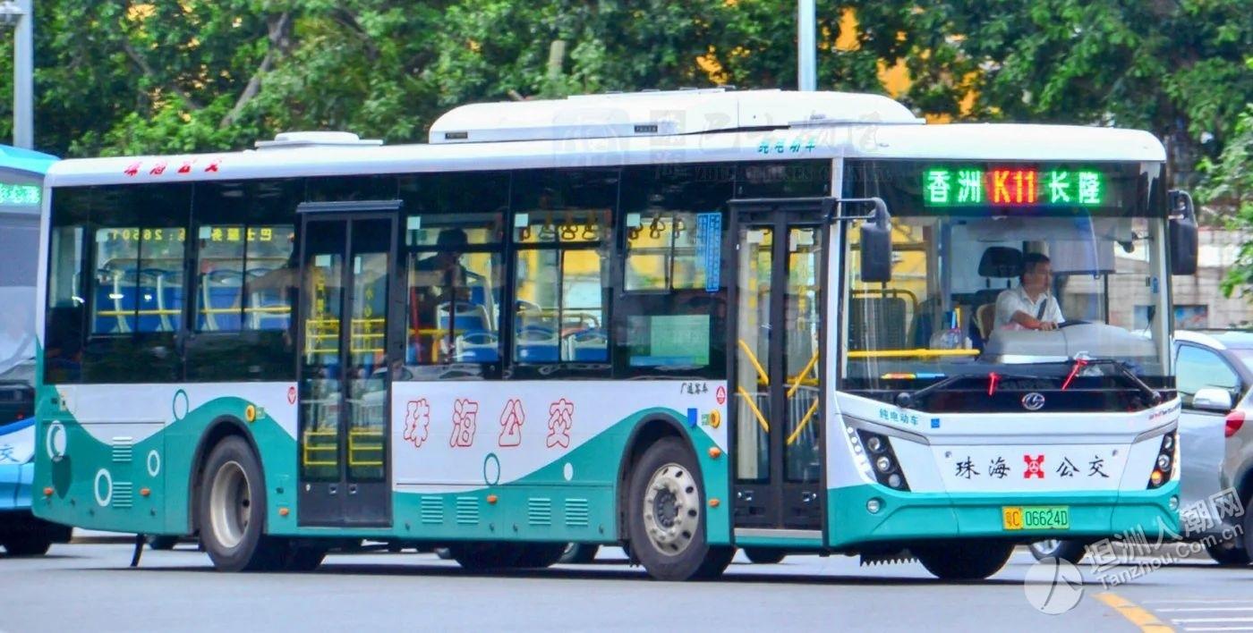 明天起,珠海公交线路大调整!坦洲街坊别搭错车...