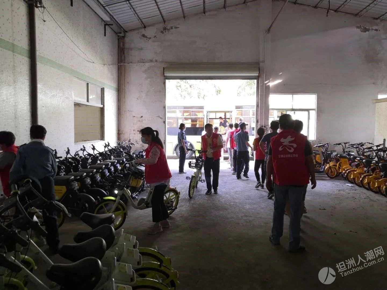 动真格!中山多个镇区着手清理共享电动自行车,已回收…