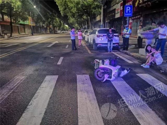 事发坦洲!女子酒后骑车发生碰撞,对方竟是醉酒驾车