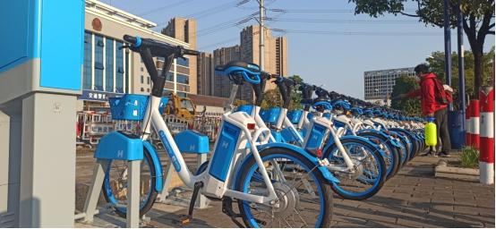 """公共自行车""""功成身退"""" 坦洲镇引进新一代""""公共助力车"""""""