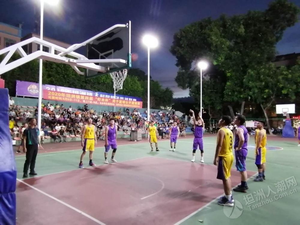 """篮球飞吧,2020年坦洲镇第四届""""虾米杯""""男子篮球公开邀请赛开播"""
