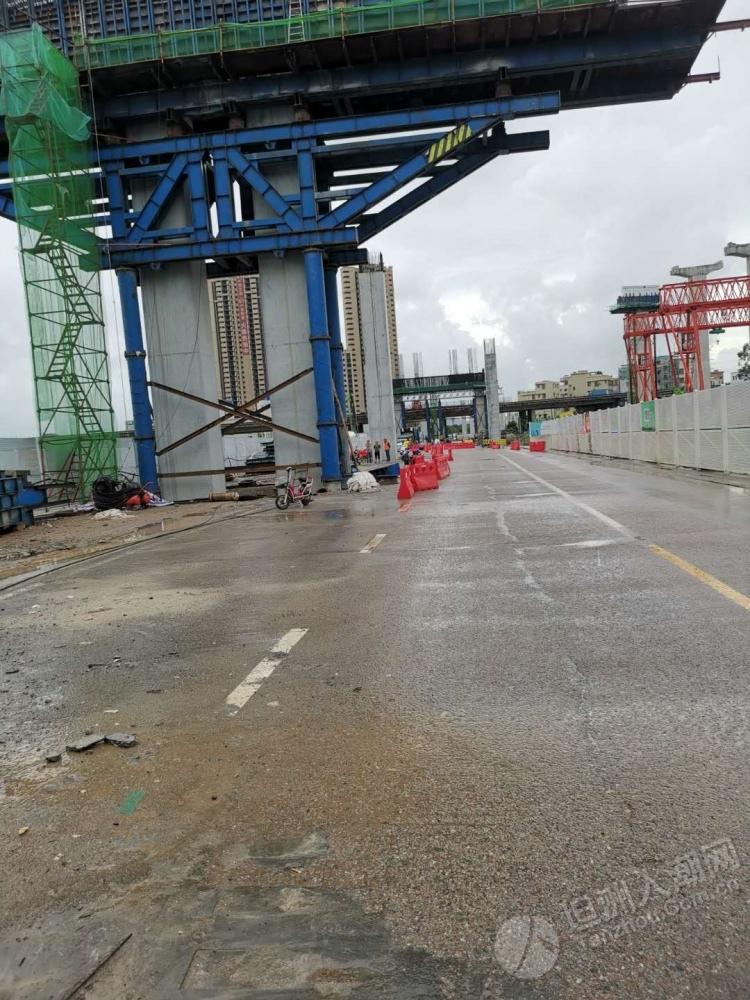 紧急通知:沙坦路琪环村路口路段实行临时交通管制,请绕行!