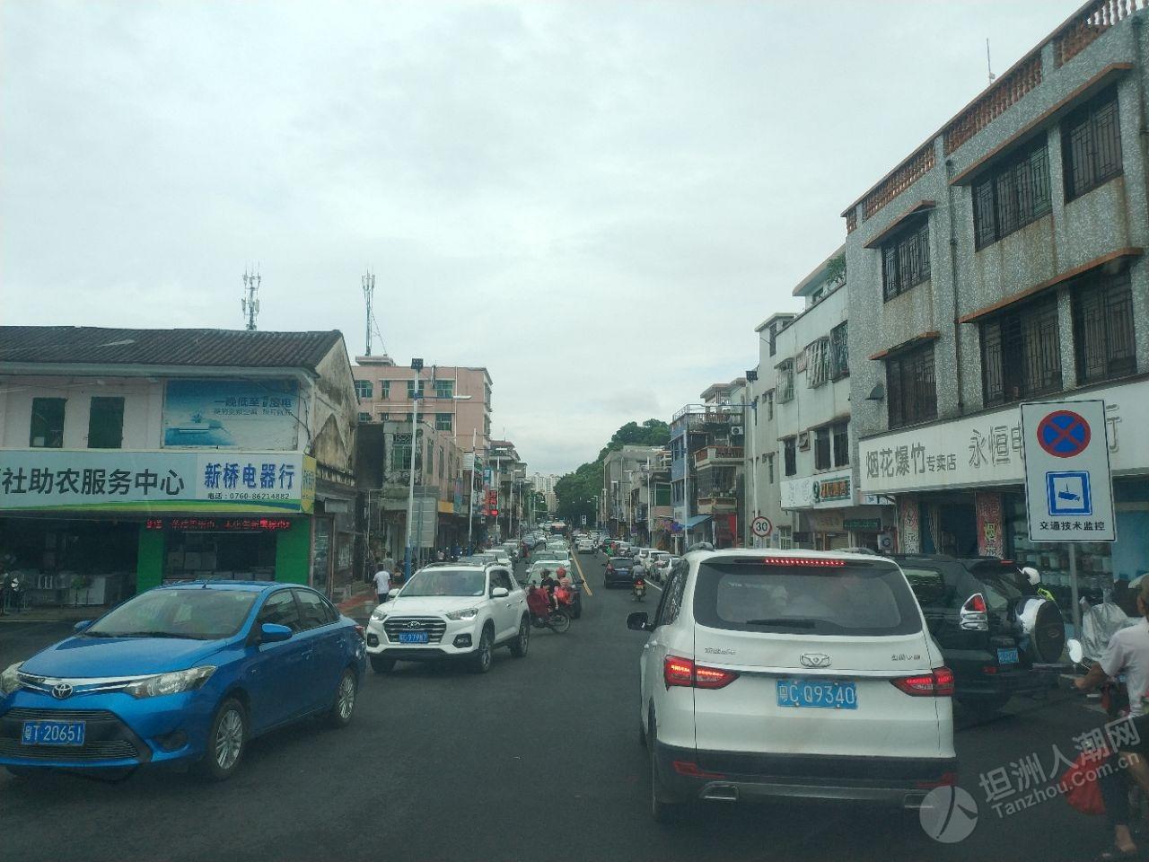 注意!坦洲市场多车缓慢