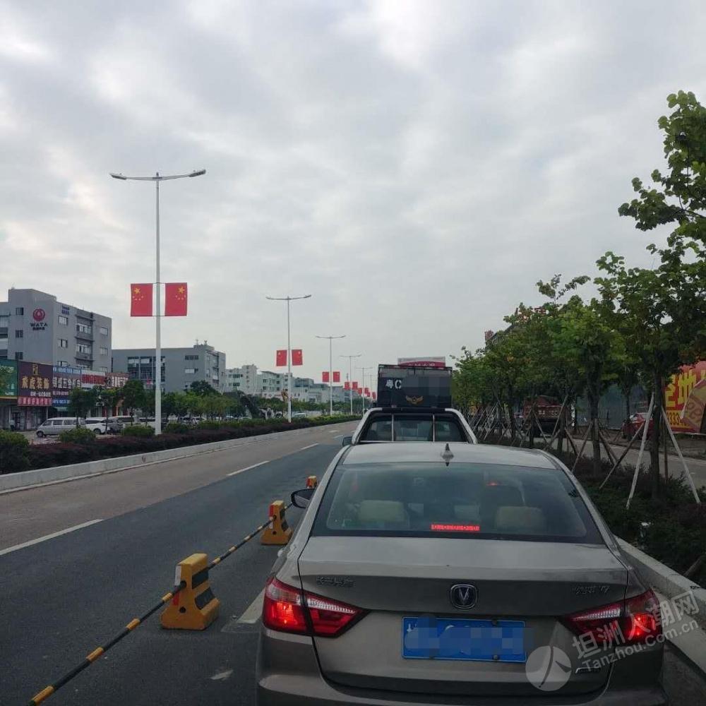 三车道变一车道,坦洲街坊们往金斗大桥方向记得预留充足时间,不然...