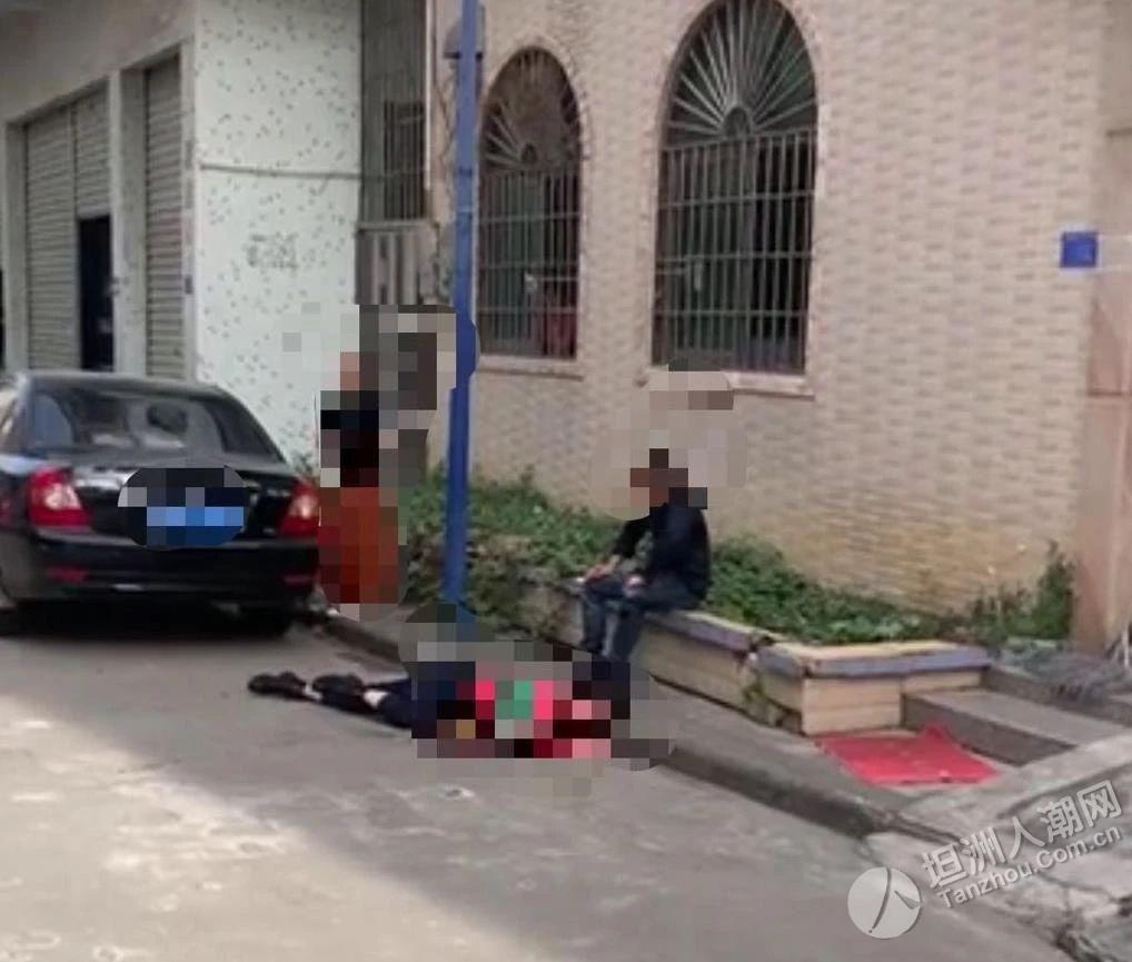 刀刀致命!中山一男子因感情纠纷,持刀当街伤害女子