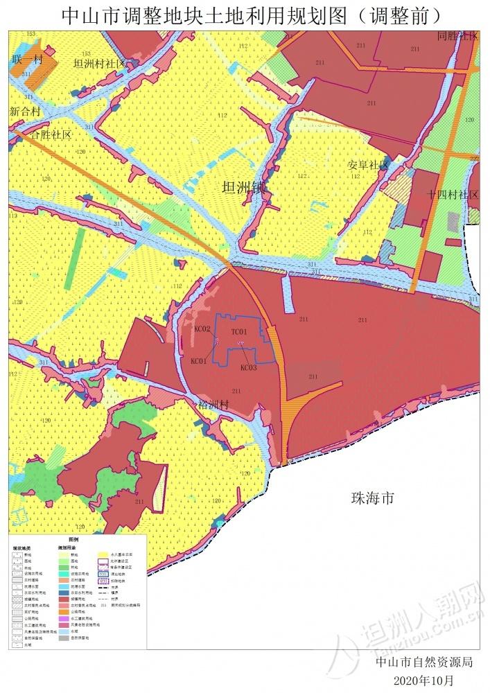 附件3.中山市坦洲镇土地利用总体规划图(2010-2020年)(调整前).jpg