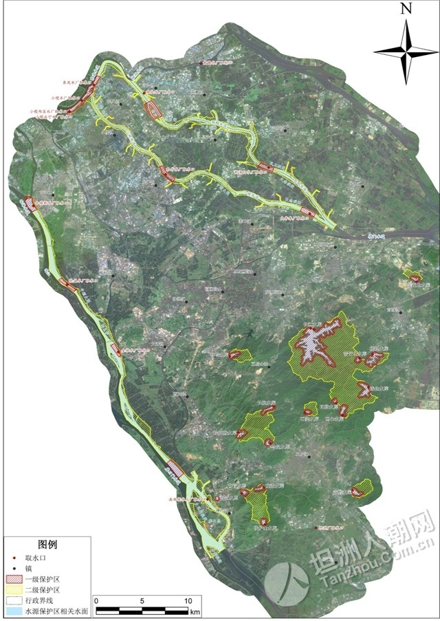 三减一增,中山饮用水水源保护区有调整