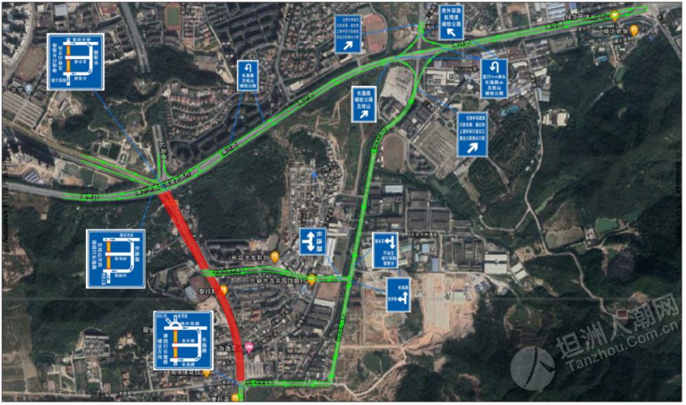 28日起,城桂公路这个路段全封闭施工2个月,坦洲司机这样绕行...