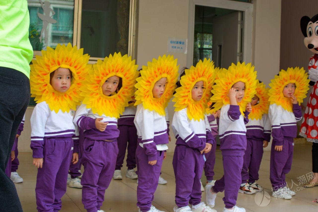 敏捷阳光幼儿园运动会
