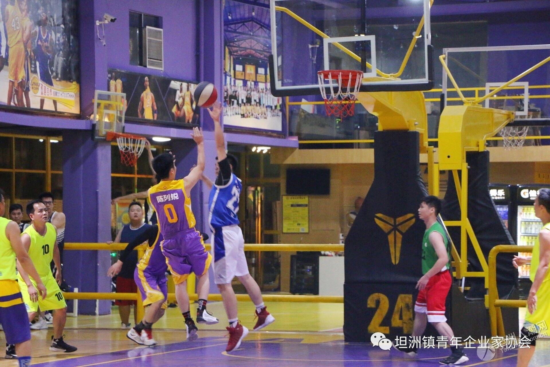 以球会友,绽放风采!坦洲青企与坦洲人社篮球友谊赛精彩回顾