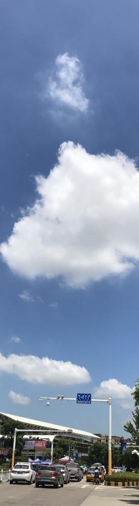 坦洲的蓝天,你有好好看过吗?