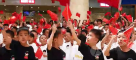 【皇爵假日广场】坦洲这群小朋友合唱《歌唱祖国》,向祖国深情表白!