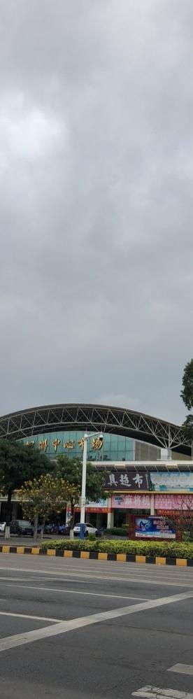 坦洲的天,看着就要下暴雨了
