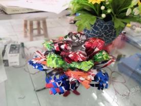 """有创意!坦洲的他们DIY出""""易拉罐上的花朵"""""""