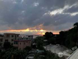 坦洲夕阳无限好
