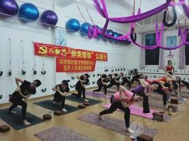 舒缓压力收获健康!坦洲为一线医护人员开瑜伽班