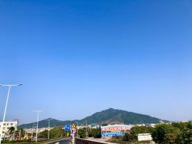 坦洲的天真蓝
