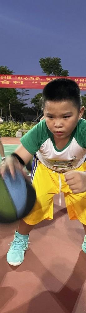 新合村青少年篮球培训班开班啦!